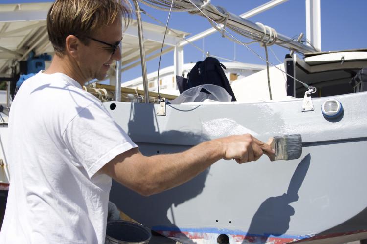 rengjøring av båt