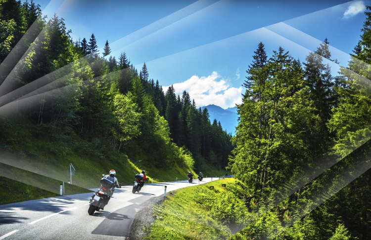 Motorsykkeltur i Norge