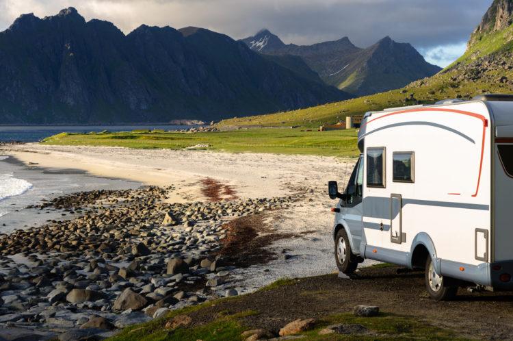 camping lofoten